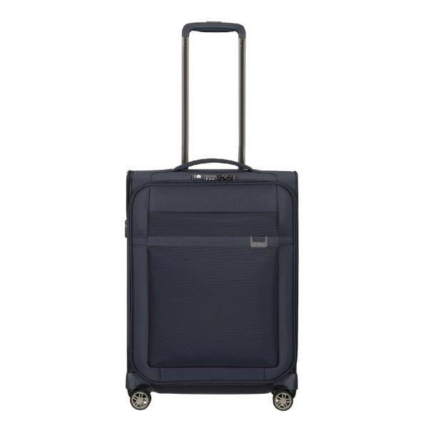 Samsonite Airea Spinner 55 Strict dark blue Zachte koffer