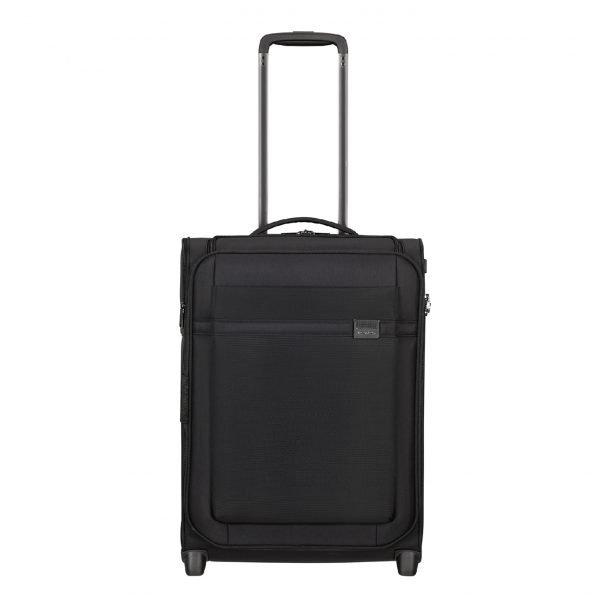 Samsonite Airea Upright 55 Exp Toppocket black Handbagage koffer