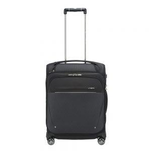 Samsonite B-Lite Icon Spinner 55 Expandable Toppocket black Zachte koffer