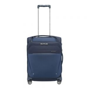 Samsonite B-Lite Icon Spinner 55 Expandable Toppocket dark blue Zachte koffer