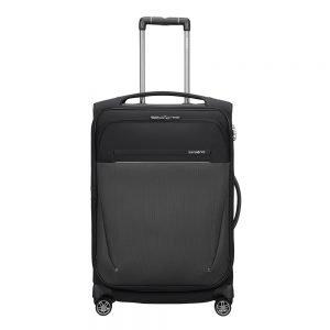 Samsonite B-Lite Icon Spinner 63 Expandable black Zachte koffer