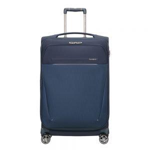 Samsonite B-Lite Icon Spinner 71 Expandable dark blue Zachte koffer