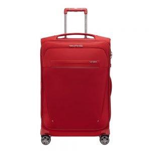 Samsonite B-Lite Icon Spinner 71 Expandable red Zachte koffer