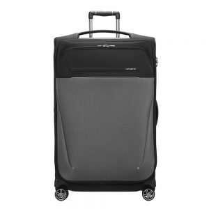 Samsonite B-Lite Icon Spinner 78 Expandable black Zachte koffer
