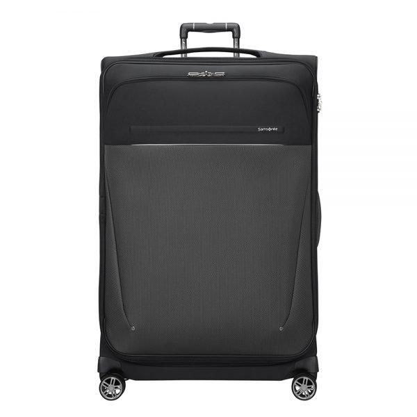 Samsonite B-Lite Icon Spinner 83 Expandable black Zachte koffer