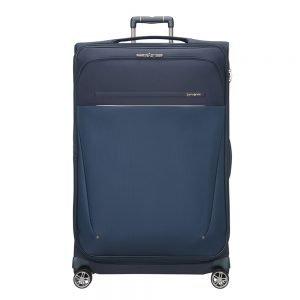 Samsonite B-Lite Icon Spinner 83 Expandable dark blue Zachte koffer