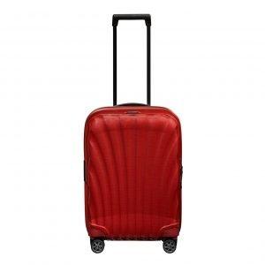 Samsonite C-Lite Spinner 55 Exp chili red Harde Koffer