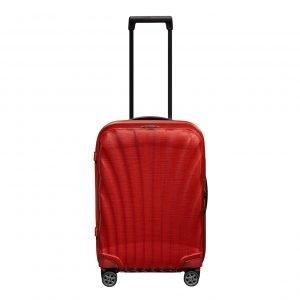 Samsonite C-Lite Spinner 55 chili red Harde Koffer