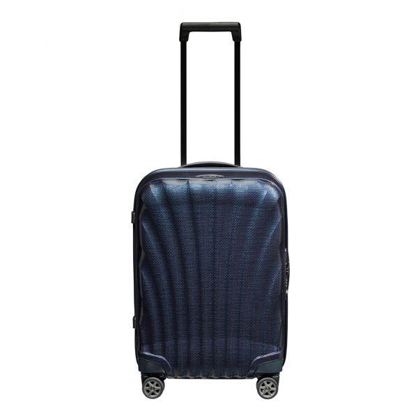 Samsonite C-Lite Spinner 55 midnight blue Harde Koffer