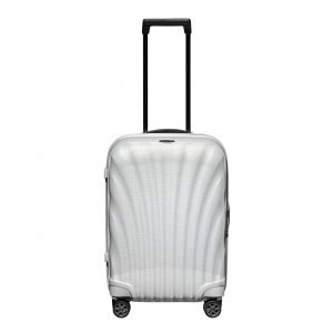 Samsonite C-Lite Spinner 55 off white Harde Koffer