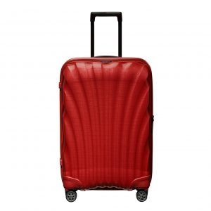 Samsonite C-Lite Spinner 69 chili red Harde Koffer