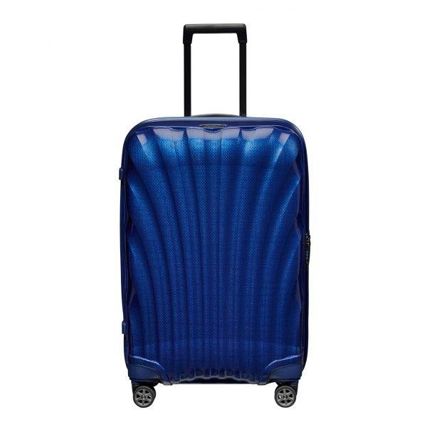 Samsonite C-Lite Spinner 69 deep blue Harde Koffer
