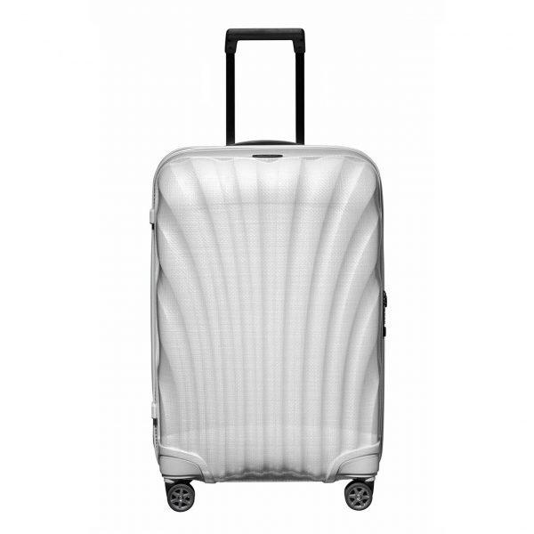 Samsonite C-Lite Spinner 69 off white Harde Koffer