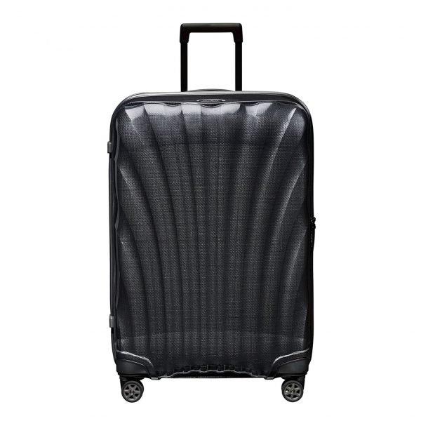 Samsonite C-Lite Spinner 75 black Harde Koffer