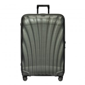 Samsonite C-Lite Spinner 81 metallic green Harde Koffer