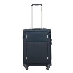 Samsonite Citybeat Spinner 55/40 navy blue Zachte koffer