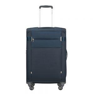Samsonite Citybeat Spinner 66 Exp navy blue Zachte koffer