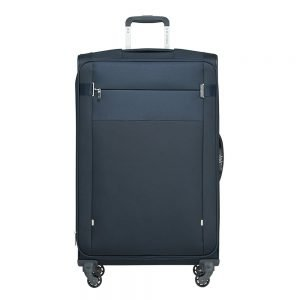 Samsonite Citybeat Spinner 78 Exp navy blue Zachte koffer