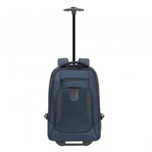 Samsonite Cityscape Evo Laptop Backpack / Wheels 15.6'' blue Handbagage koffer Trolley