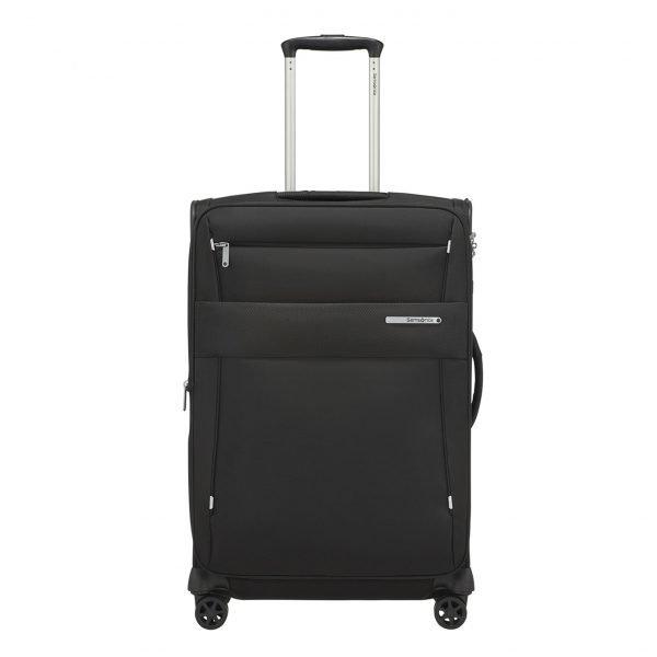 Samsonite Duopack Spinner 67 Exp 1 Frame black Zachte koffer