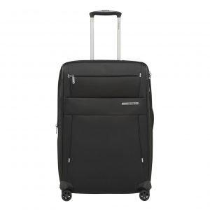 Samsonite Duopack Spinner 67 Exp 2 Frame black Zachte koffer