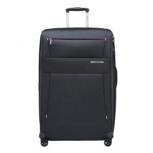 Samsonite Duopack Spinner 78 Exp 2 Frame blue Zachte koffer