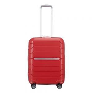 Samsonite Flux Spinner 55 Expandable red Harde Koffer