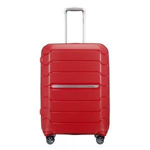 Samsonite Flux Spinner 68 Expandable red Harde Koffer