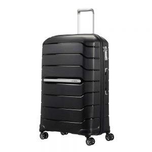 Samsonite Flux Spinner 75 Expandable black Harde Koffer