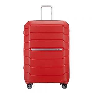 Samsonite Flux Spinner 75 Expandable red Harde Koffer