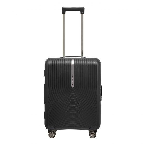 Samsonite Hi-Fi Spinner 55 Exp black Harde Koffer