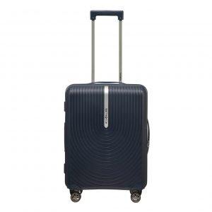 Samsonite Hi-Fi Spinner 55 Exp dark blue Harde Koffer