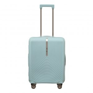 Samsonite Hi-Fi Spinner 55 Exp sky blue Harde Koffer