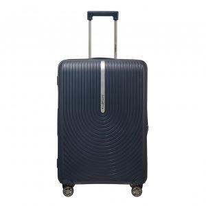 Samsonite Hi-Fi Spinner 68 Exp dark blue Harde Koffer