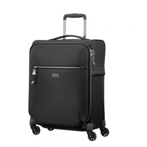 Samsonite Karissa Biz Spinner 55 black Zachte koffer