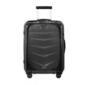 Samsonite Lite-Biz Spinner 55 USB black Harde Koffer