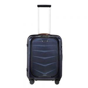 Samsonite Lite-Biz Spinner 55 USB midnight blue Harde Koffer