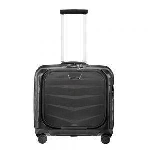 Samsonite Lite-Biz Spinner Rolling Tote USB black Harde Koffer