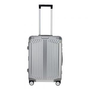Samsonite Lite-Box Alu Spinner 55 aluminium Harde Koffer