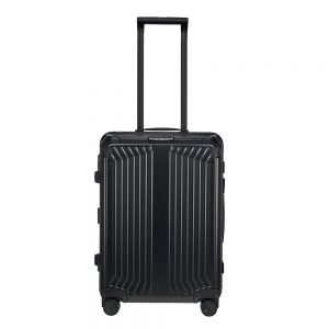 Samsonite Lite-Box Alu Spinner 55 black Harde Koffer