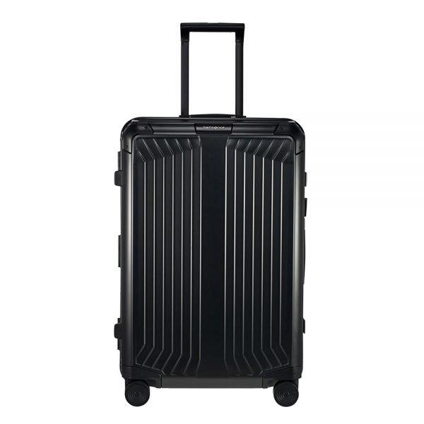 Samsonite Lite-Box Alu Spinner 69 black Harde Koffer