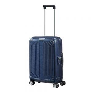 Samsonite Lite-Box Spinner 55 deep blue Harde Koffer