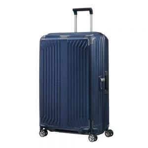 Samsonite Lite-Box Spinner 75 deep blue Harde Koffer