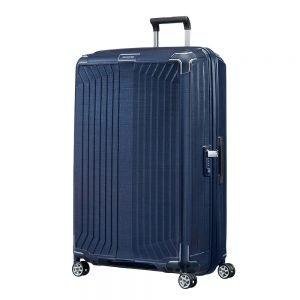 Samsonite Lite-Box Spinner 81 deep blue Harde Koffer