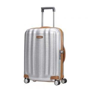 Samsonite Lite-Cube DLX Spinner 55 aluminium Harde Koffer
