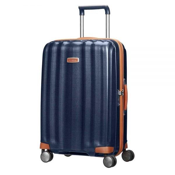 Samsonite Lite-Cube DLX Spinner 68 midnight blue Harde Koffer