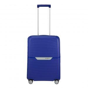 Samsonite Magnum Spinner 55 cobalt blue Harde Koffer