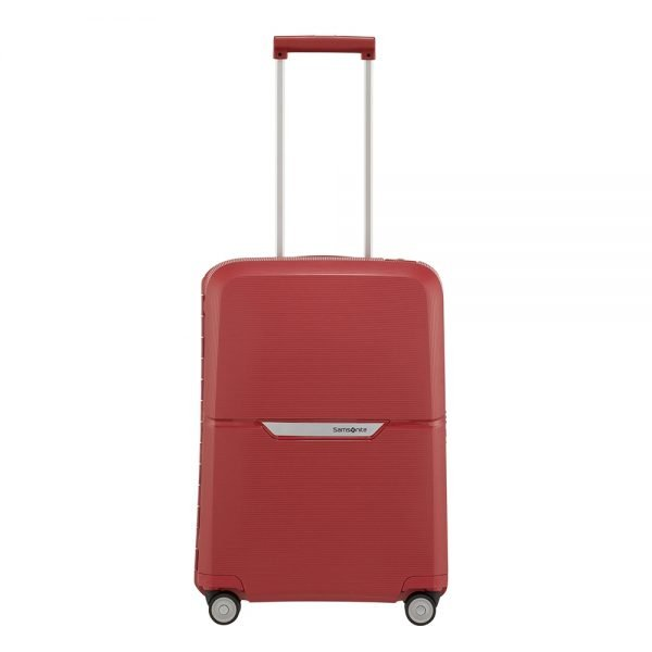 Samsonite Magnum Spinner 55 rust red Harde Koffer