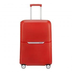 Samsonite Magnum Spinner 69 bright red Harde Koffer