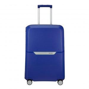 Samsonite Magnum Spinner 69 cobalt blue Harde Koffer